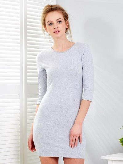Sukienki basic dobrane do sylwetki